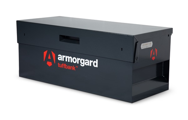 Front view image of the armorgard TB12 securely closed
