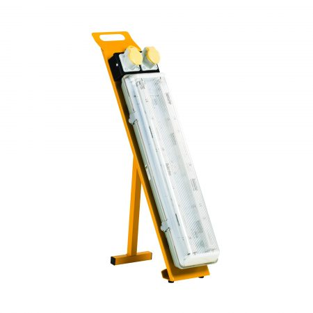 Defender 2ft Fluorescent Floor Light with Power Take Off Point - 110V