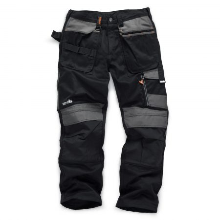 Scruffs 3D Trade Trouser in Black