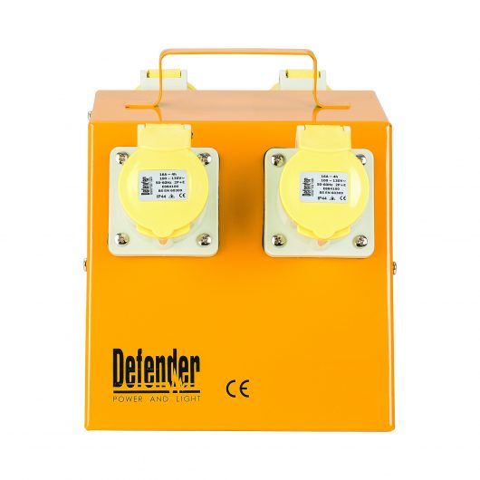 Defender Classic 4 Way Power Splitter Distribution Unit - 16A 110V