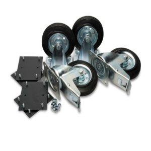 "Armorgard 6"" Castors x 4 with Fixing Kit CAS"