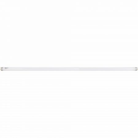 5ft long cylindrical fluorescent Defender light tube on a white background