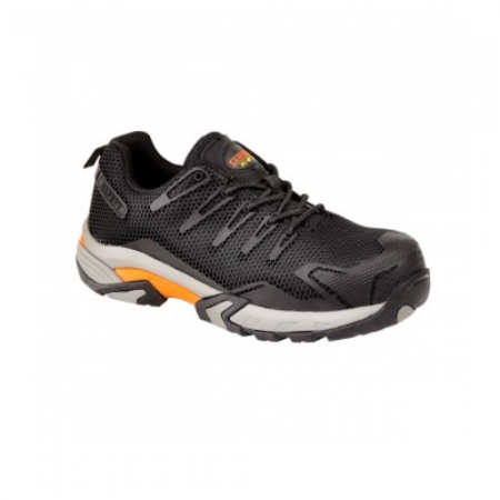 Samson XL Metal Free Black Trainer 7765