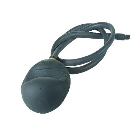 8-12 inch black PVC flexible drain bag with peripheral ribs