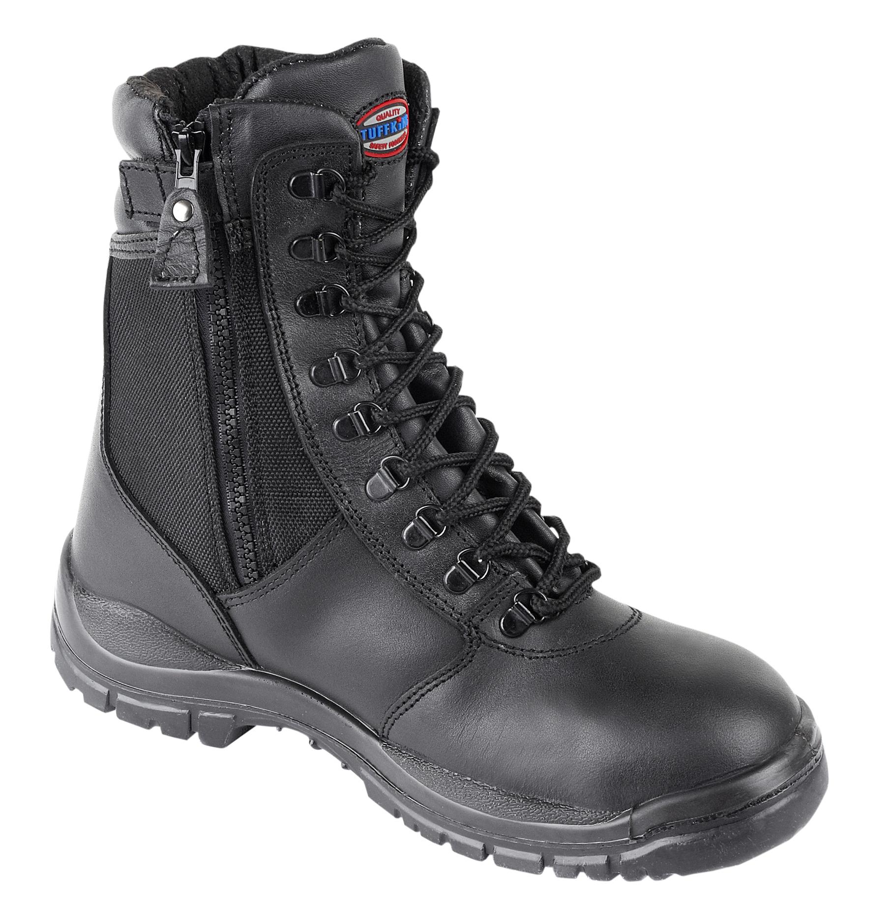 Tuffking Black High Leg Boot 9108