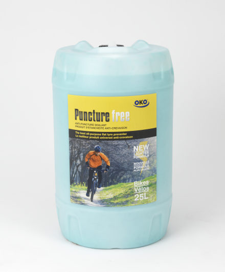 OKO 25L Puncture Free for Bicycles -With a Pump