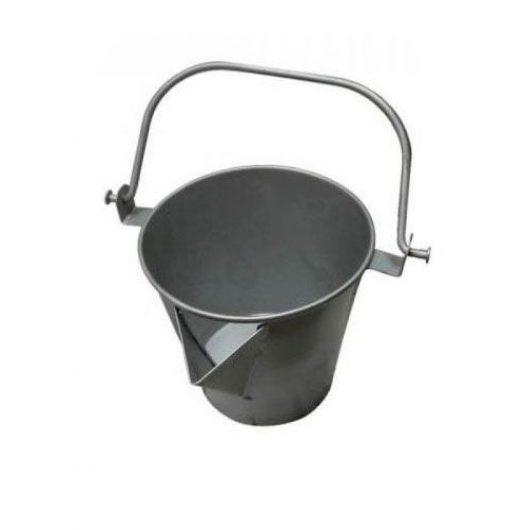 Asphalt V-Lipped Compound Bucket