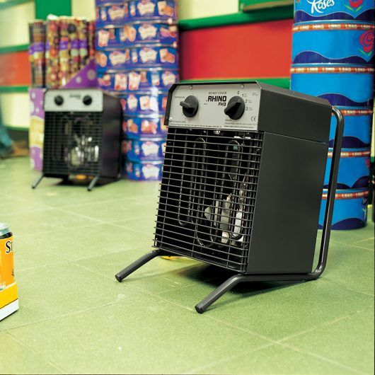 Rhino FH3 Fan Heater - 230V