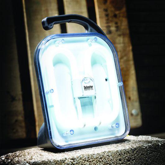 Defender Fluorescent Task Floor Light - 110V (E709156)