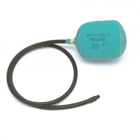6 inch air bag stopper with green nylon outer casing