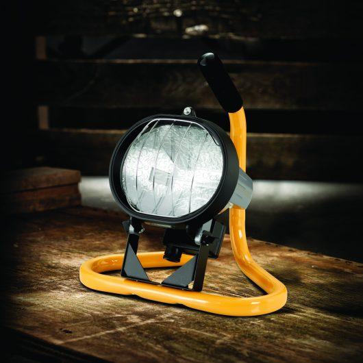 Defender Halogen Minipod Floor Light - 110V (E709007)