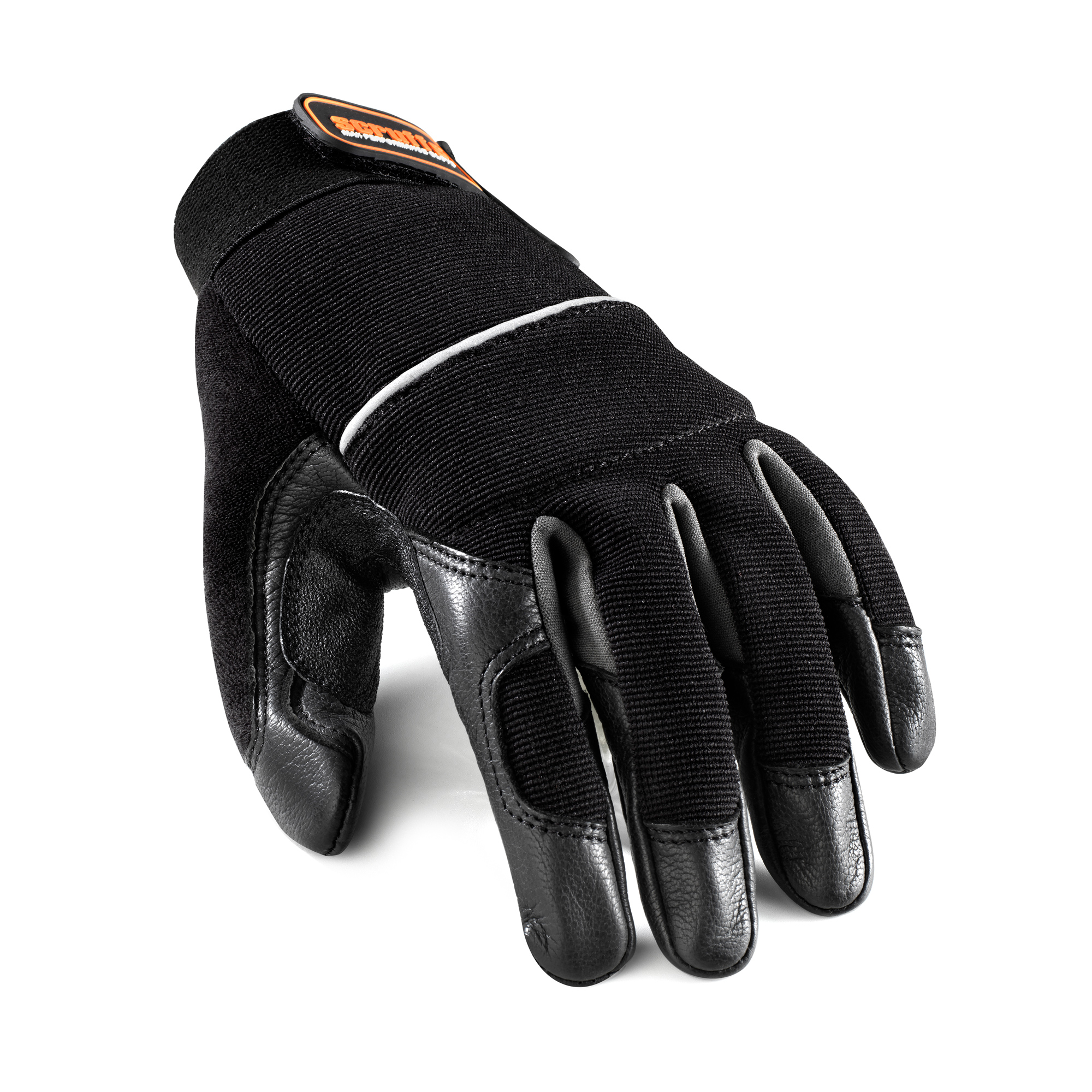 Scruffs Leather Trim Work Gloves