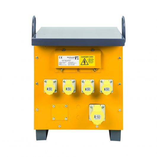 Defender 5kVA Site Transformer 4 x 16A and 1 x 32A outlets 110V