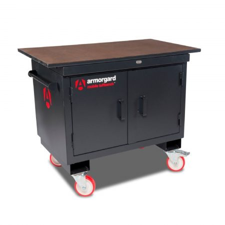 Amrorgard Mobile Tuffbench Wood Top BH1270M-W