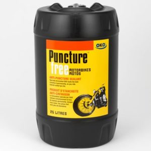 OKO 25L Puncture Free On-Road for Motorbikes, Mopeds and Scooters Without a Pump