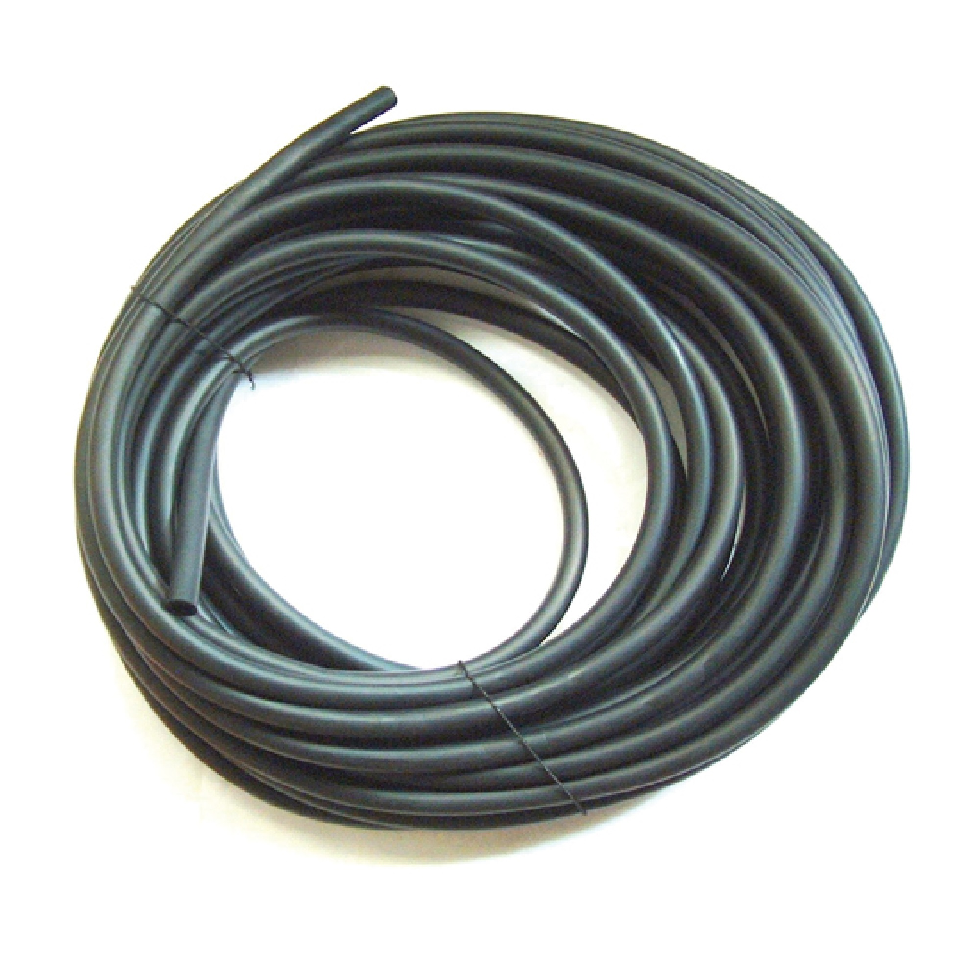 1 metre of spare black nitrate rubber hose for LPG