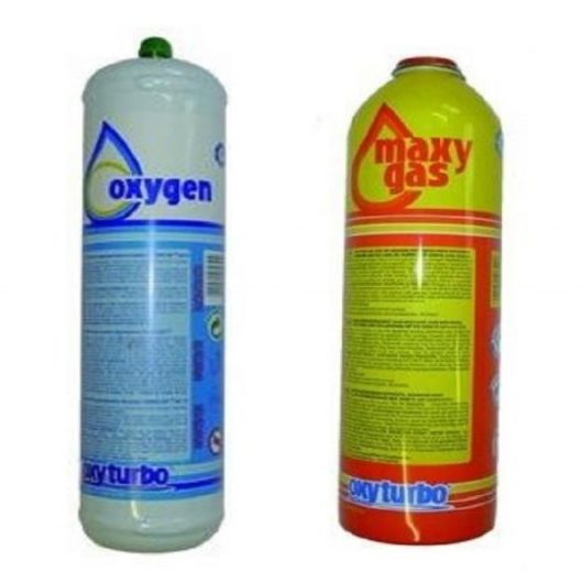 Oxyturbo Spare Gas and Oxygen Cylinders