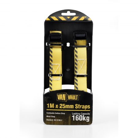 Van Vault 1M x 25mm Endless Strap (Pair)