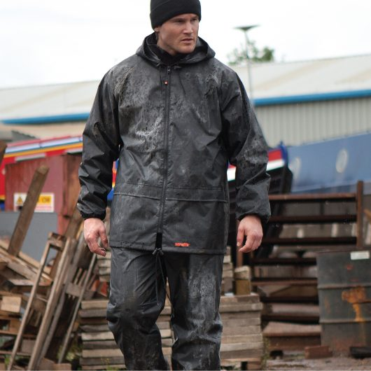Scruffs Waterproof PVC Rainsuit - Jacket and Over Trousers