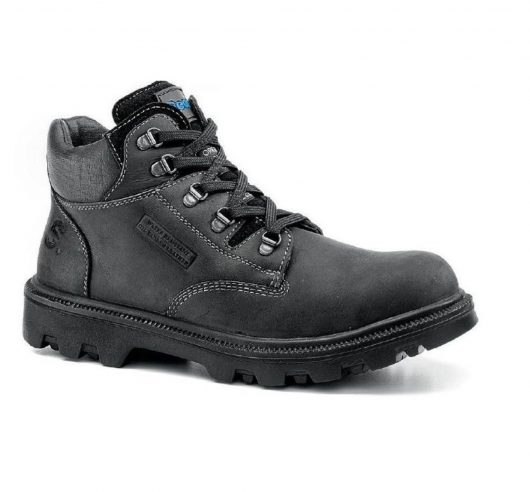 Sherpa Black Waxy Half Boot 9245