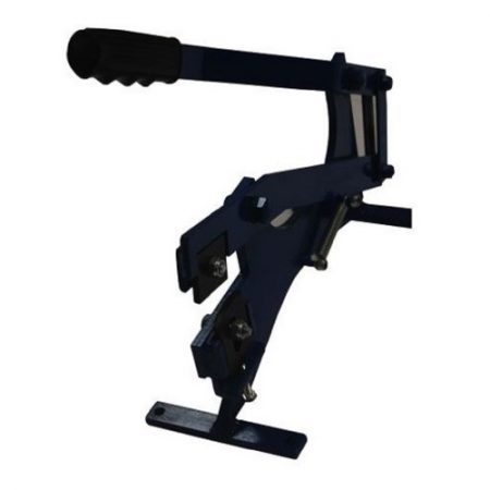 Heavy duty roof tile cropper with hardened steel jaws and black grip handle on a white background