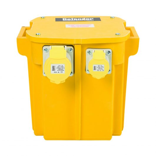 Defender 5kVA Transformer 2 x 16A outlet and 1 x 32A 110v
