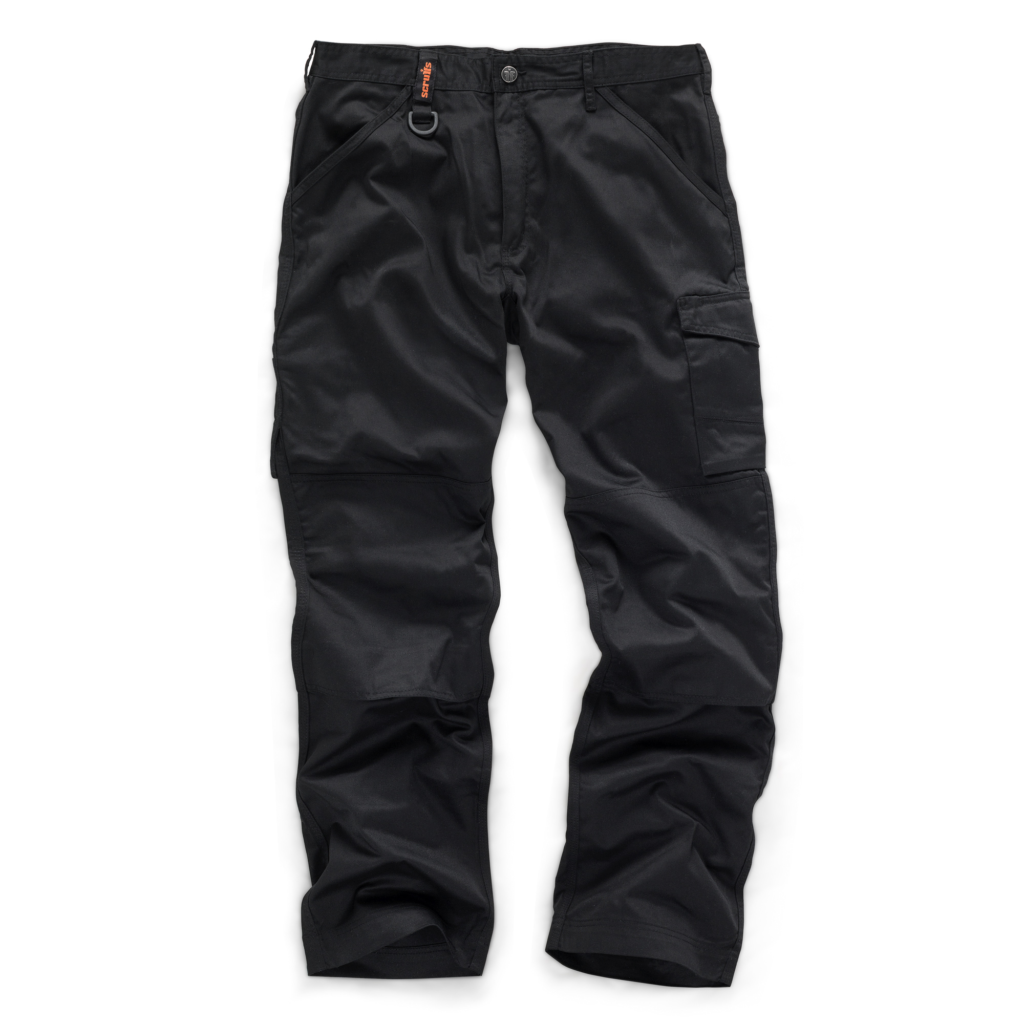 Scruffs Worker Trouser in Black