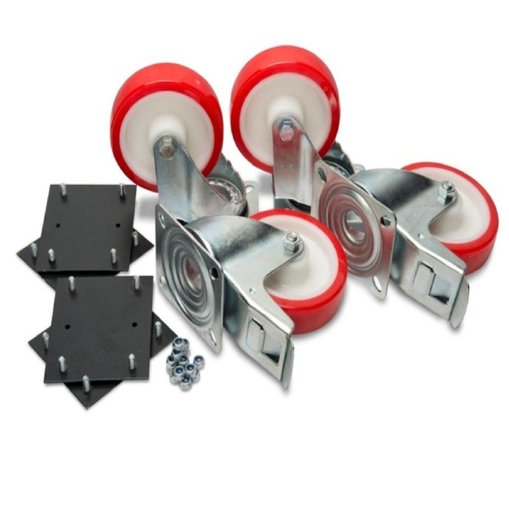 "Armorgard 6"" Heavy Duty Castors x 4 with Fixing Kit CAS-HD"