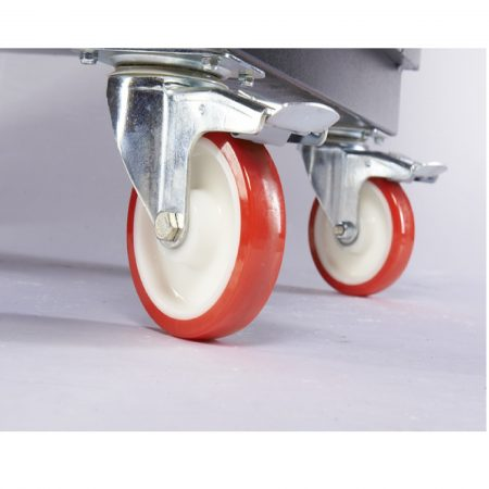 "Armorgard 6"" Heavy Duty Castors x 4 with Fixing Kit"