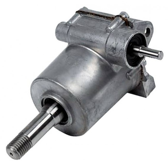 Spare silver metal gearbox for the 1999 onwards Belle minimix 140/150 mixers