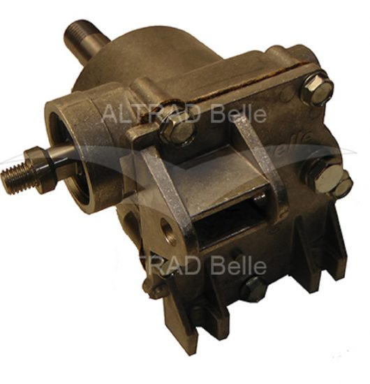 Spare gold metal gearbox for the pre 1999 Belle minimix 140/150 mixers
