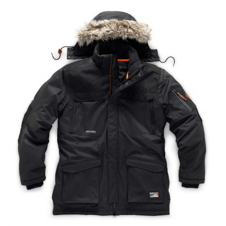 Scruffs Classic Thermo Parka in Dark Lead