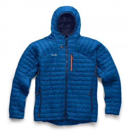 Scruffs Expedition Thermo Hooded Jacket in Blue