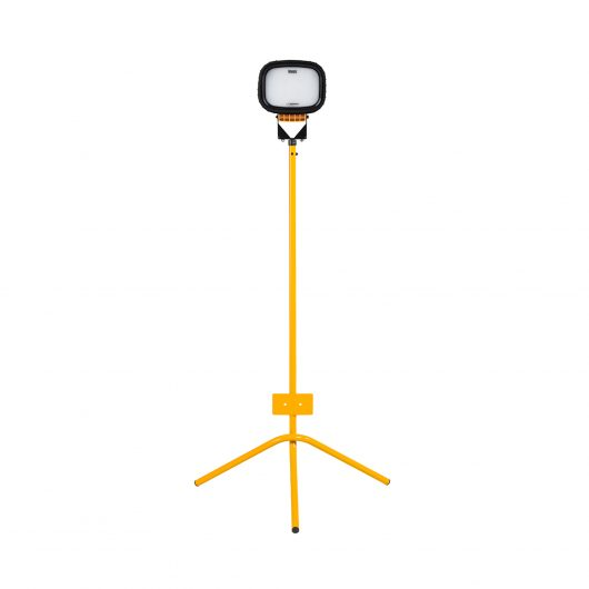Defender LED6000S Single with Fixed Leg Tripod