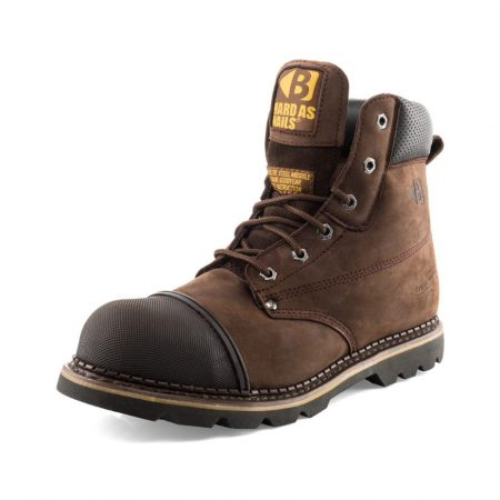 Buckler B301sm safety boot with padded collar and scuff guard