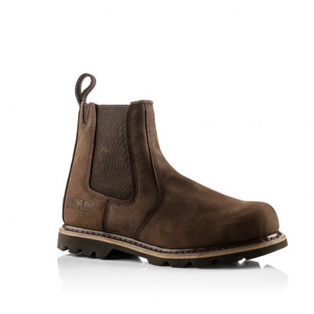 This image shows Bucklers B1150 safety dealer boot in brown
