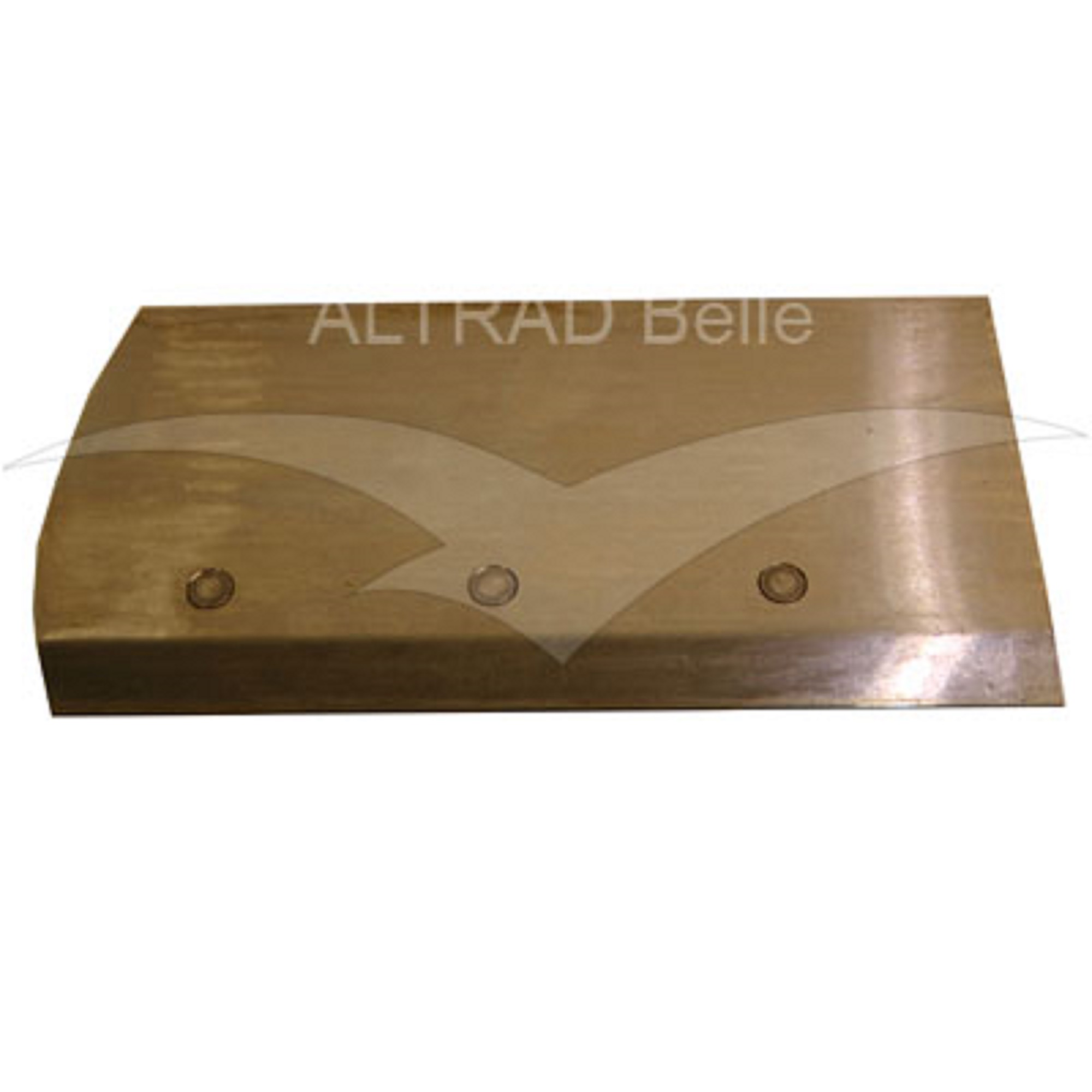 Bronze coloured metal finishing blade for the Belle PRO 600X trowel
