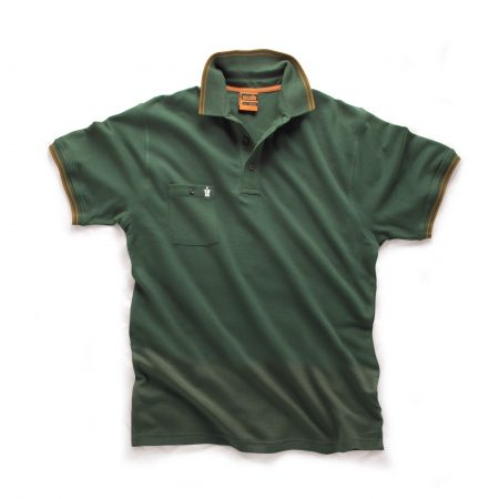 Worker Polo in Green