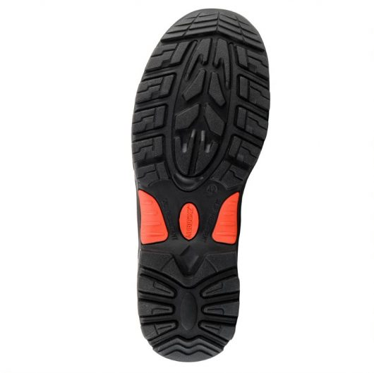 This image shows the sole of Buckler NKZ102br safety boot
