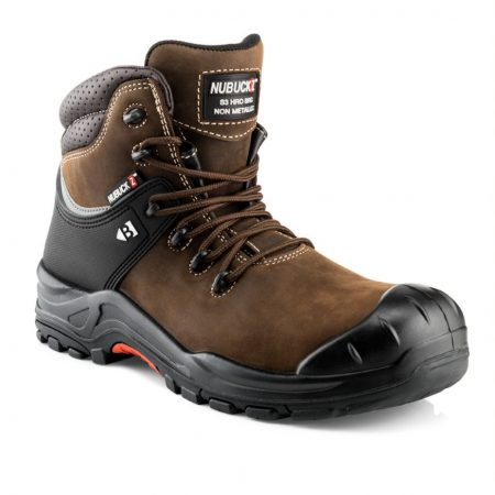 This image shows Buckler NKZ102br with scuff guard and padded collar
