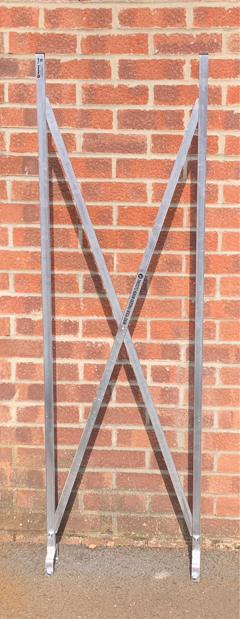 Window X Frame semi open