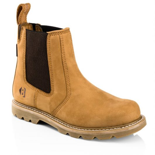 This image shows the Buckler B2700 non-safety dealer boot in Honey