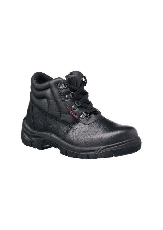 This image shows Tuffking Delta safety boot with 4-D rings and padded collar/tongue