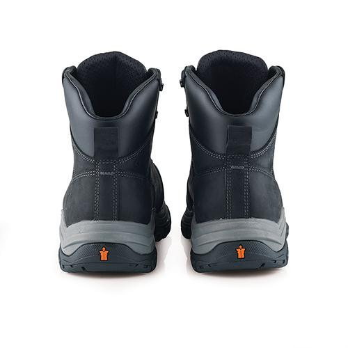 This image shows the back of Scruffs Rafter with padded collar and ankle support