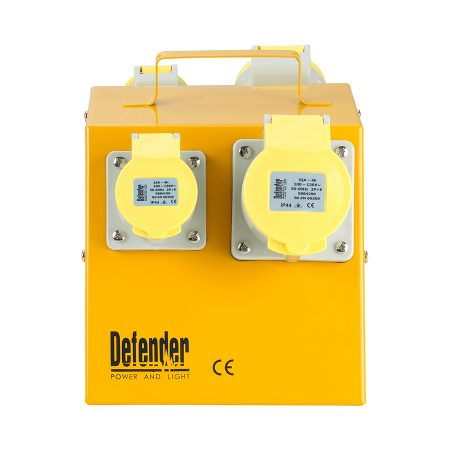 This image shows Defender 4 way power splitter