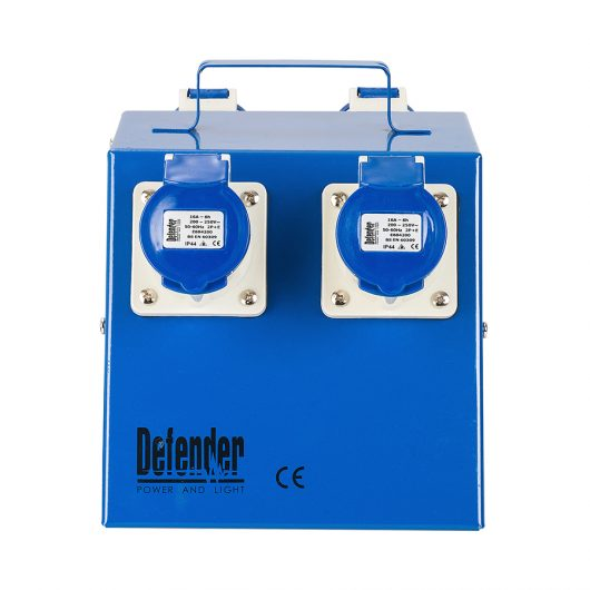 This image shows Defender Classic 4 way splitter