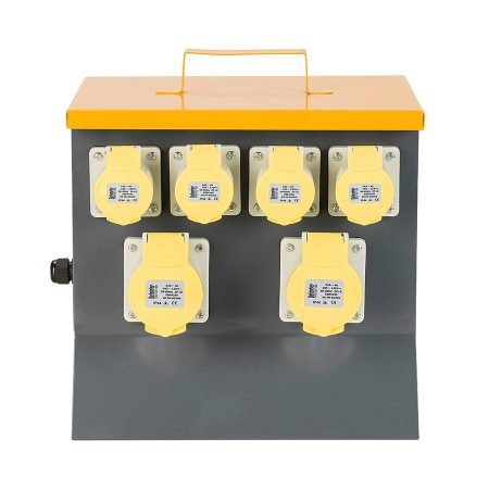 This image shows Defender 6 way power splitter