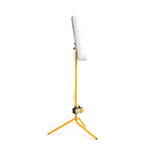 This image shows Defender 2ft LED light with fixed leg tripod
