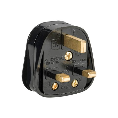 This image shows Defender 13A rubberised nylon plug