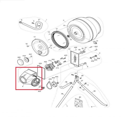 Motor Cover Uk 230v 50hz Tp02
